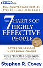 7 Habits of Highly Effective People The 25th Anniversary Edition