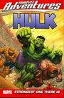 Marvel Adventures Hulk Volume 3 Strongest One There Is Digest