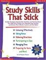 Study Skills That Stick (Grades 4-8)