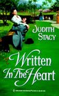 Written in the Heart (Harlequin Historical, No 500)