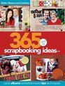 365 Days of Scrapbooking Ideas