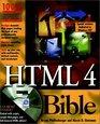 Html 4 Bible (Bible S.)