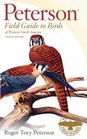 Peterson Field Guide to Birds of Western North America Fourth Edition  Series