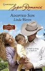 Adopted Son (McCain Brothers, Bk 5) (Cowboy Country) (Harlequin Superromance, No 1440)