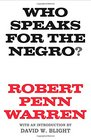 Who Speaks for the Negro