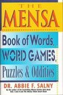 The MENSA Book of Words Word Games Puzzles  Oddities