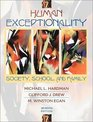 Human Exceptionality Society School and Family