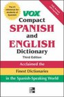 Vox Compact Spanish and English Dictionary 3E