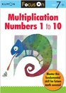 Kumon Focus On Multiplication Numbers 1-10