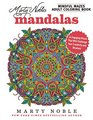 Marty Noble's Mindful Mazes Adult Coloring Book Mandalas 48 Engaging Mazes That Will Challenge Your Creativity and Wisdom