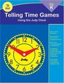 Telling Time Games with Judy  Using the Judy Clock