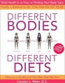 Different Bodies Different Diets The Revolutionary 25 Body Type System