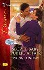 Secret Baby, Public Affair (Rogue Diamonds, Bk 2) (Silhouette Desire, No 1930)