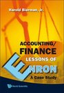 Accounting/Finance Lessons Of Enron A Case Study