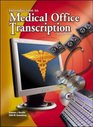 Medical Office Transcription An Introduction to Medical Transcription Text-Workbook