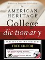 The American Heritage College Dictionary, Fourth Edition with CD-ROM (American Heritage College Dictionary)