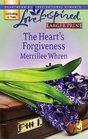 The Heart's Forgiveness (Steeple Hill Love Inspired (Large Print))
