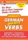 Harrap's Pocket German Verbs