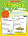 Phonics Poetry Pages 50 Fill-in-the-Blank Practice Pages That Help Kids Master Essential Phonics Skills for Reading Success