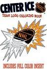Center Ice Team Logo Coloring Book