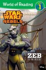 World of Reading Star Wars Rebels Zeb to the Rescue Level 1
