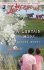A Certain Hope (Love Inspired)