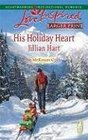 His Holiday Heart (McKaslin Klan) (Love Inspired, No 467) (Larger Print)