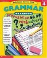 Scholastic Success with Tests Grammar Workbook Grade 4