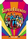 Super Friends Fold and Mail Stationery