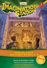 Imagination Station Books 3-Pack Secret of the Prince's Tomb / Battle for Cannibal Island / Escape to the Hiding Place