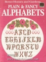 Better Homes and Gardens Plain and Fancy Alphabets