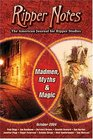 Ripper Notes Madmen Myths and Magic