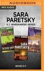 Sara Paretsky V I Warshawski Series Books 5-7 Blood Shot Burn Marks Guardian Angel