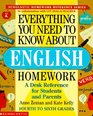Everything You Need To Know About English Homework