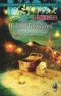 Hidden Treasures (McBride Sisters, Bk 2) (Love Inspired, No 457) (Larger Print)