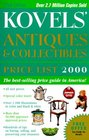 Kovels' Antiques  Collectibles Price List 2000 32nd Edition