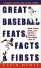 Great Baseball Feats, Facts  Firsts (2002) (Great Baseball Feats, Facts  Firsts)