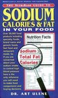 Sodium Calories  Fat in Your Food