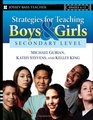 Strategies for Teaching Boys and Girls -- Secondary Level A Workbook for Educators