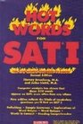 Hot Words for Sat I: The 350 Words You Need to Know (Barron's Hot Words for the SAT I)