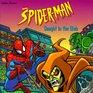SpiderMan Caught in Web