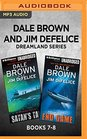Dale Brown and Jim DeFelice Dreamland Series Books 7-8 Satan's Tail  End Game