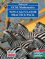 Edexcel GCSE Maths Non-Calculator Practice Pack