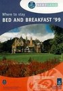 Scotland 1999 Where to Stay - Bed and Breakfast