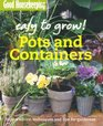 Pots and Containers Expert Advice Techniques and Tips for Gardeners