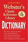 Webster's Classic Reference LIbrary Dictionary - New Revised