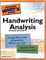 The Complete Idiot's Guide to Handwriting Analysis, 2nd Edition (Complete Idiot's Guide to)