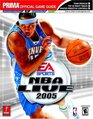 NBA Live 2005  Prima Official Game Guide