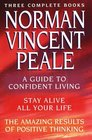 Norman Vincent Peale A New Collection of Three Complete Books