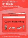 3rd Grade Cursive Teacher's Guide
